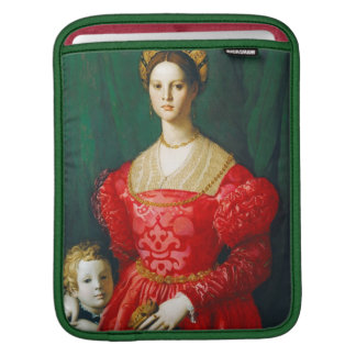 A Young Woman and Her Little Boy, c.1540 Sleeves For iPads