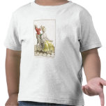 A Young Woman in a Peignoir with her Hairdresser, T Shirt