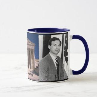 A Yourhful Samuel Alito - U.S. Supreme Court Mug