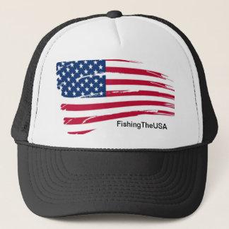 a youtube merchandise piece trucker hat