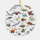 A-Z of amazing animals Ceramic Ornament