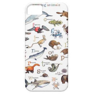 A-Z of amazing animals iPhone SE/5/5s Case