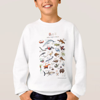 A-Z of amazing animals Sweatshirt