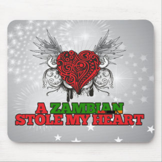A Zambian Stole my Heart Mouse Pad