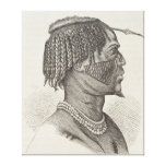 A Zandeh from The History of Mankind Canvas Prints