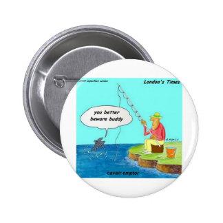 a zazzle caviar emptor button