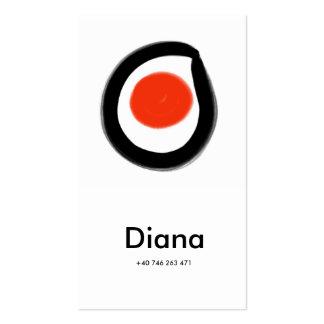 a zen business card