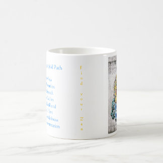 A Zen start to the day Classic White Coffee Mug