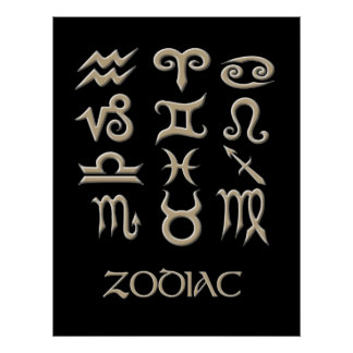 A Zodiac Symbol Chart