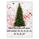 A Zombie-Free Holiday Season card