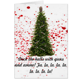 A Zombie-Free Holiday Season card