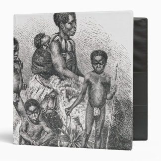 A Zulu family from The History of Mankind Binder