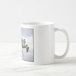 AA166 CLASSIC WHITE COFFEE MUG