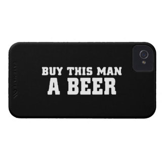 aa31 buy this man beer bachelor party funny humor Case-Mate iPhone 4 case
