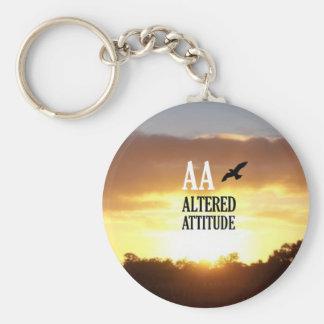 AA Altered Attitude Keychain