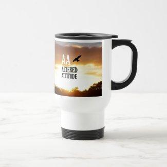 AA Altered Attitude Travel Mug