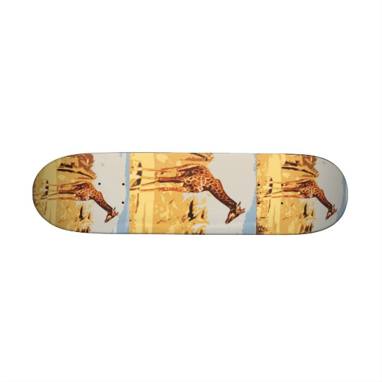 AA- Awesome Giraffe Skateboard