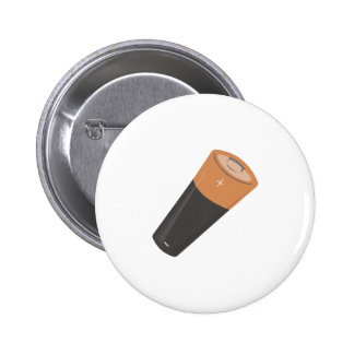 AA Battery Pinback Buttons