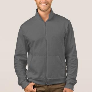 AA California Fleece Zip Jogger Asphalt Jacket