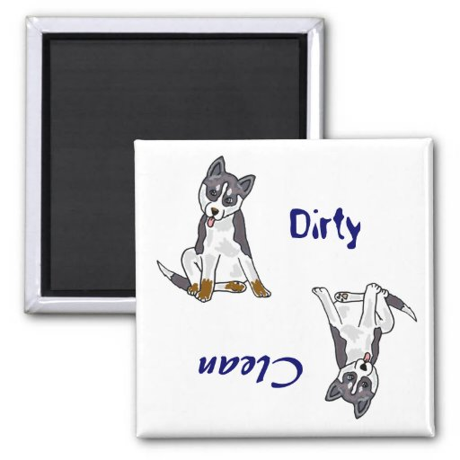 AA- Dirty Paws Dishwasher Magnet