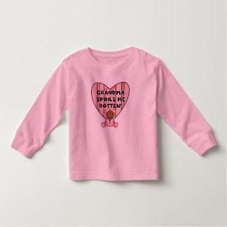 AA Girl Grandma Spoils Me Tshirts and Gifts