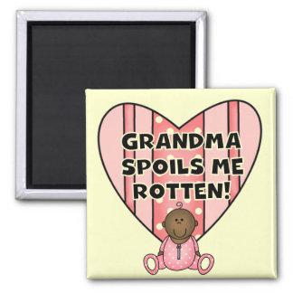 AA Girl Grandma Spoils Me Tshirts and Gifts Magnet