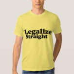 AA legalize straight blk n yellow Tshirt