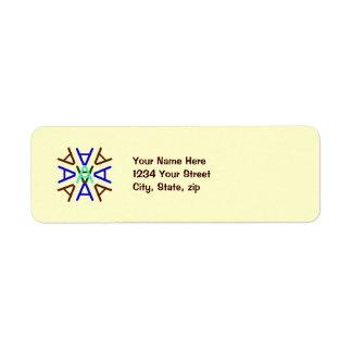Aa Medallion Earth Label