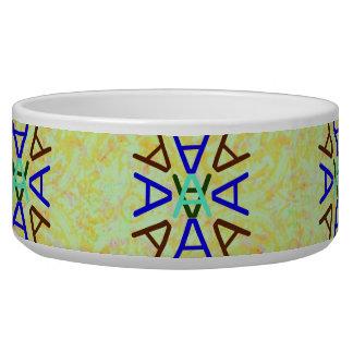Aa Medallion Earth pet bowl