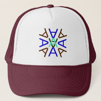 Aa Medallion Earth Trucker Hat