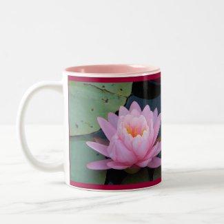 AA- Pink Water Lily Mug mug