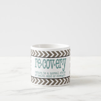 AA Recovery Definition Espresso Cup