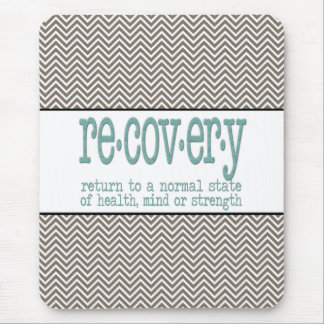 AA Recovery Definition Mouse Pad