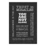 AA Sayings & Slogans 3 Poster