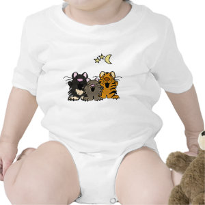 AA- Singing Cats Baby Outfit shirt