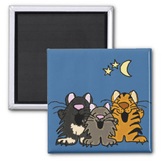 AA- Singing Cats Magnet
