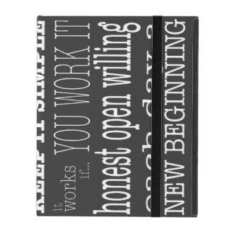 AA Slogans 2 iPad Folio Cases