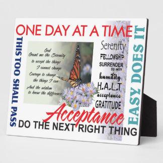 aa slogans plaque