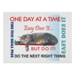 aa slogans poster12easy does it poster