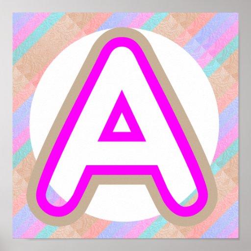 AAA ALPHAA Festive Holiday Celebration ALPHABET Print