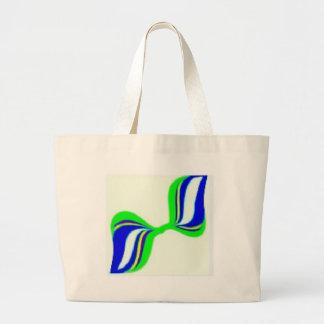 aaa bow jumbo tote bag