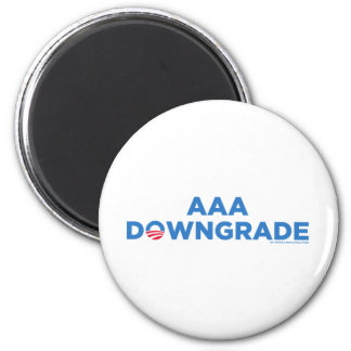 AAA Downgrade 2 Inch Round Magnet