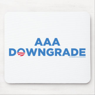 AAA Downgrade Mouse Pad