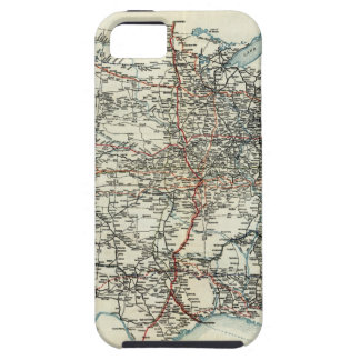 AAA Map of transcontinental routes 1918 iPhone 5 Cases