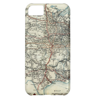 AAA Map of transcontinental routes 1918 iPhone 5C Covers