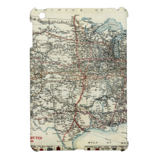AAA Map of transcontinental routes 1918 Case For The iPad Mini