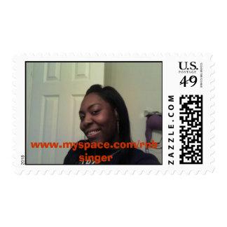 aaa, www.myspace.com/rnbsinger postage stamp