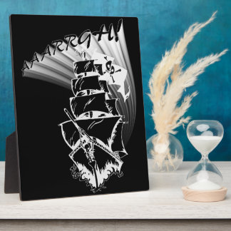 AAAARGH! It be a Pirate Ship! Display Plaques