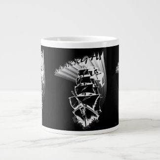AAAARGH! It be a Pirate Ship! Extra Large Mugs