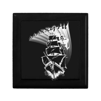 AAAARGH! It be a Pirate Ship! Jewelry Box